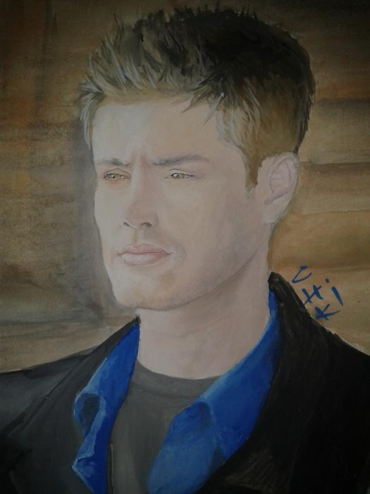 Jensen Ackles by chiki